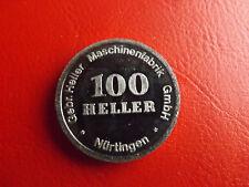 Pièce de Monnaie/Médaille Hermann et Ernst Heller (1894-1994) * environ 30 mm (box2)...