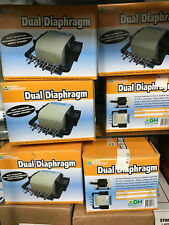 General Hydroponics Dual Diaphram Air Pump