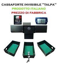 CASSAFORTE TALPA INVISIBILE STANDARD A MURO SICUREZZA NASCOSTA 3 CASSETTI+VANO