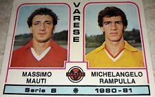 FIGURINA CALCIATORI PANINI 1980/81 VARESE N° 524 ALBUM 1981