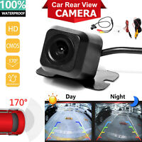 170° CMOS Car Rear View Backup Camera Reverse HD Night Vision Waterproof CAM Kit