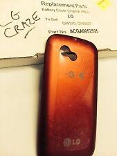 LG Craze GW370,GW382F Battery Cover Door in Red - Original Part Brand New in Box