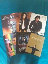 Michael Jackson Programmes Pepsi History Dangerous Bad