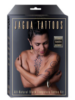 Earth Jagua Organic Black Temporary Tattoo and Body Painting Kit - Free Shipping