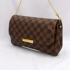 LOUIS VUITTON LV Favorite MM Chain Shoulder Hand Tote Bag Damier N41129 Used