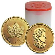 2019 Canada 1 oz Gold Maple Leaf $50 Coin ROYAL CANADIAN MINT .9999 PURE GOLD