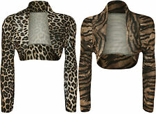 Polyester Animal Print Stretch Other Tops for Women