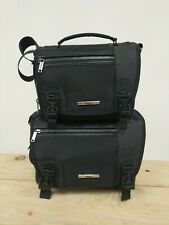 2 New Nikon Digital Slr Black Camera Cases- Gadget Bags for Dslr w Straps
