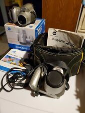 A Pair of Konica Minolta DiMAGE Z20 5.0MP Digital Cameras - Silver