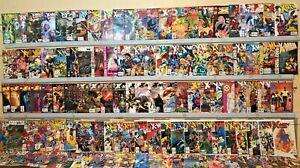 Lot of 110  Uncanny X-Men Marvel comics