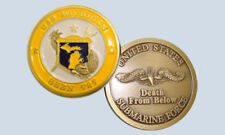 USS Michigan SSBN 727 Submarine Challenge Coin USN DFB