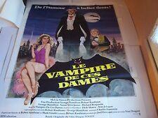 Affiche Cinéma - LE VAMPIRE DE CES DAMES - de Stan Dragoti - 1979 (120 x 160 cm)