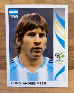 Panini WM 2006 Sticker Nr. 185 Lionel Andres Messi ungeklebt tütenfrisch Rookie