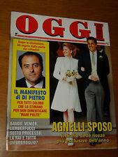 OGGI 1996/48=AVERY HOWE AGNELLI=BASTIA MONDOVI=SANREMO GIOVANI=GOBBO NOTRE DAME=