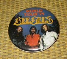 Beegees '79 World Tour | 1979 Pinback Button Promo Concert Memorabilia