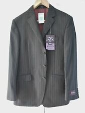 M&s Sartorial Mens Suit Jacket Only 100 Wool Regular Fit Size 40 Long