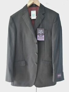 M&S SARTORIAL MEN'S SUIT JACKET ONLY 100% WOOL REGULAR FIT SIZE 40 LONG BNWT