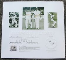 BOB SIMPSON  BILL LAWRY  HAND SIGNED LIMITED EDITION PRINT