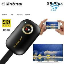 4K Wireless Dual Wifi Airplay Phone Screen HDMI TV Dongle Adapter Mirror