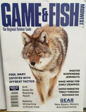 Game & Fish Midwest Feb 2020 Boats Motors Electronics Jerkbaits Free Shipping Cb