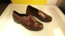 Rohde Patchwork style leather funky Good Condition women's size 5.5 shoes flats