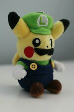 "Pokemon Pikachu Cosplay Luigi 5"" Plush Soft Toy Stuffed Animal Plushie Keychain"