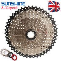 SUNSHINE 8/9/10/11S MTB Bike Cassette11-40/42/46/50T Sprocket  Fit Shimano/SRAM