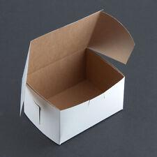 "Cake / Bakery Box 5 1/2"" x 4"" x 3"" 250/BD - FAST  Shipping  !!"