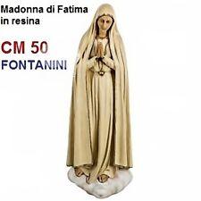 Statua religiosa FONTANINI madonna di fatima cm 50 in resina arte sacra santi