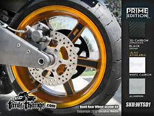 Buell 02-10 XB9 XB12 1125 Lightning Firebolt Wheel Accent Kit carbon aluminum