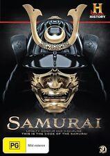 Samurai (DVD, 2012, 3-Disc Set) Brand New  Region 4