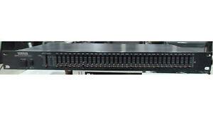 Yamaha GQ1031 31-Band 1/3-octave Graphic Equalizer mountable-rack rare