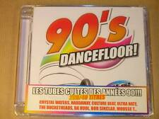 2 CD / 90'S DANCEFLOOR / TUBES CULTES DES ANNEES 90 / NEUF SOUS CELLO