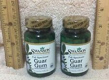 TWO, Guar Gum Fiber, from Swanson >>>  120 capsules (total), 400 mg each