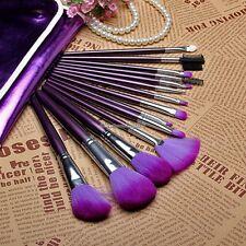 New Professional Makeup 16 PCs Brush Cosmetic Make Up Set With Case Bag Kit