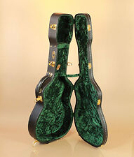 Guardian Plush Single 0 Parlor O Size Acoustic Guitar Hard Case Velvet Green