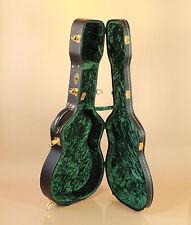 Guardian Plush Single 0 Parlor O Size Acoustic Guitar Hard Case Velvet Green
