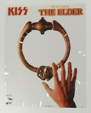 KISS MUSIC FROM THE ELDER 1981 PROMO POSTER CASABLANCA RECORDS