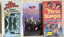 THE THREE STOOGES VHS COLLECTION NEW