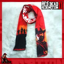 Red Dead Redemption 2 RDR2 Arthur Morgan Long Warm Neck Scarf Cosplay Costume