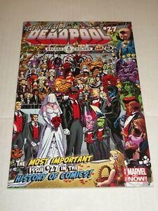 Marvel DEADPOOL #27 (2014) Shiklah, Doctor Strange, & Captain America App.