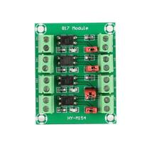 817 4 Channel Optocoupler Isolated Board Voltage Converter Adapter Module Board