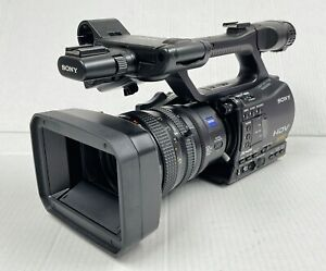 SONY HVR-Z7P 3x CMOS HDV Camcorder High Definition DVCAM - Black