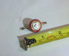 Vintage British red cross enamel badge byjr gaunt of london