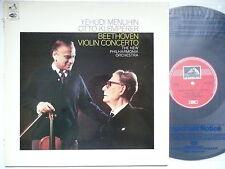 MENUHIN PLAYS BEETHOVEN VIOLIN CONCERTO NPO KLEMPERER EMI ASD 2285