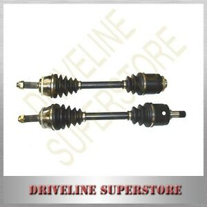 A PASSENGER`S SIDE CV JOINT DRIVE SHAFT MITSUBISHI MAGNA TE TF 3.0L V6 with ABS