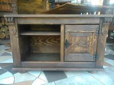 Wooden TV Cabinet Stand Box Coffee Table  Vintage Furniture Livingroom  (EM2)