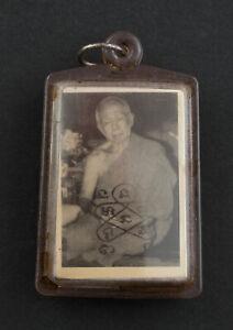 LP Tim Roop Tai photo du gourou Gurunussati Phra Khun Paen Wat Laharn rai 2228