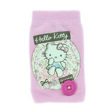 HELLO KITTY SANRIO Mobile & MP3 portable chaussette NEW OFFICIAL PHONE COVER CASE ROSE