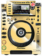 Pioneer CDJ-2000 Skin mirror gold (pair)